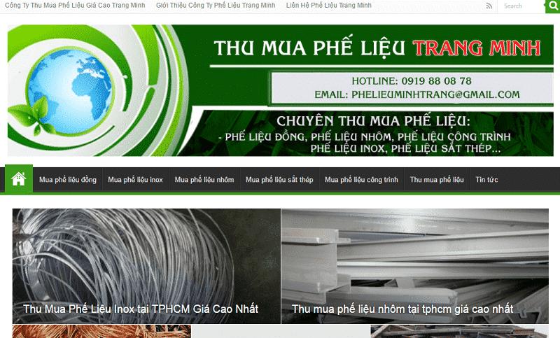 Công ty Trang Minh – địa chỉ thu mua phế liệu giá cao nhất tại TP.HCM